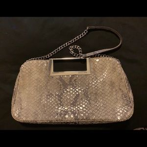 Michael Kors Gray/Taupe clutch purse